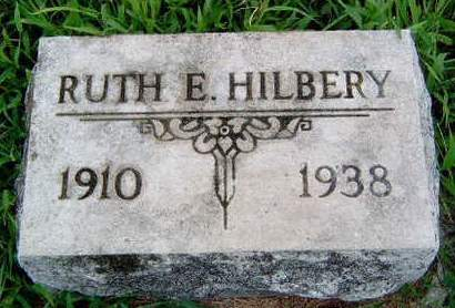 HILBERY, RUTH EDITH - Madison County, Iowa | RUTH EDITH HILBERY