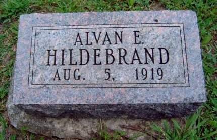 HILDEBRAND, ALVAN EARL - Madison County, Iowa | ALVAN EARL HILDEBRAND