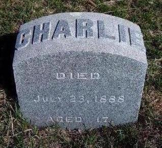 HILL, CHARLIE - Madison County, Iowa   CHARLIE HILL