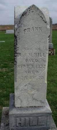HILL, WALTER FRANK - Madison County, Iowa | WALTER FRANK HILL