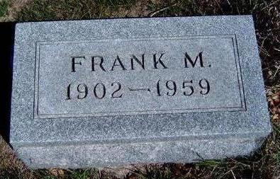 HILL, FRANK M. - Madison County, Iowa | FRANK M. HILL