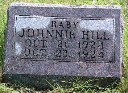 HILL, JOHNNIE - Madison County, Iowa | JOHNNIE HILL
