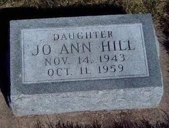 HILL, JOANN - Madison County, Iowa | JOANN HILL