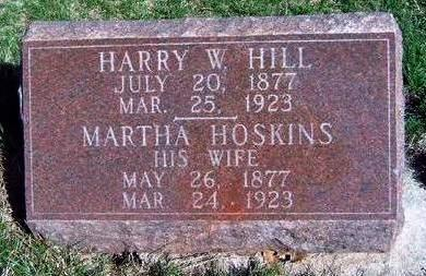 HOSKINS HILL, MARTHA - Madison County, Iowa | MARTHA HOSKINS HILL
