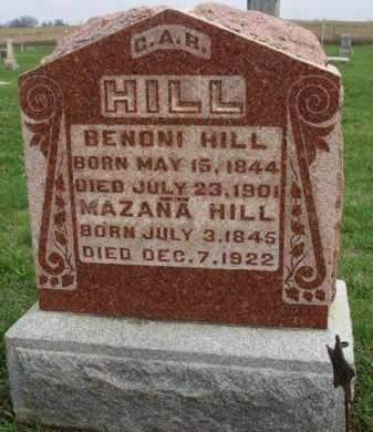HILL, MAZANA - Madison County, Iowa | MAZANA HILL