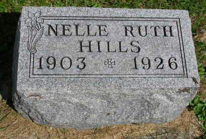 HILLS, NELLIE RUTH - Madison County, Iowa | NELLIE RUTH HILLS