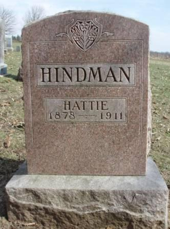 HINDMAN, HARRIET ANN (HATTIE) - Madison County, Iowa | HARRIET ANN (HATTIE) HINDMAN