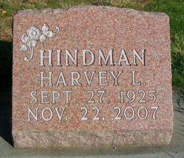 HINDMAN, HARVEY LEROY - Madison County, Iowa | HARVEY LEROY HINDMAN