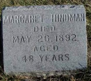 HINDMAN, MARGARET - Madison County, Iowa | MARGARET HINDMAN