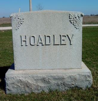 HOADLEY, FAMILY STONE - Madison County, Iowa | FAMILY STONE HOADLEY