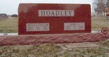 HOADLEY, STELLA - Madison County, Iowa | STELLA HOADLEY