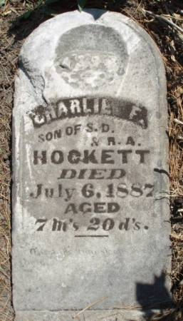 HOCKETT, CHARLES FOSTER - Madison County, Iowa | CHARLES FOSTER HOCKETT
