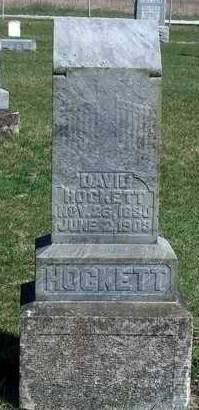 HOCKETT, DAVID - Madison County, Iowa | DAVID HOCKETT