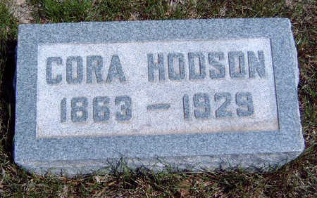 HODSON, CORA A. - Madison County, Iowa | CORA A. HODSON