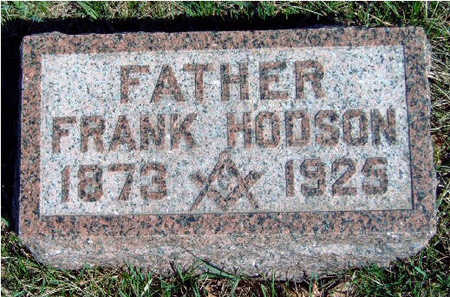 HODSON, FRANK CAREY - Madison County, Iowa | FRANK CAREY HODSON
