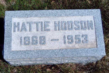 HODSON, HATTIE - Madison County, Iowa | HATTIE HODSON