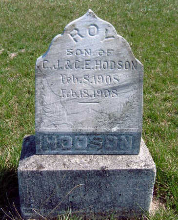 HODSON, ROY R - Madison County, Iowa | ROY R HODSON
