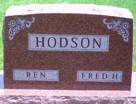 HODSON, FRED HARRY - Madison County, Iowa | FRED HARRY HODSON