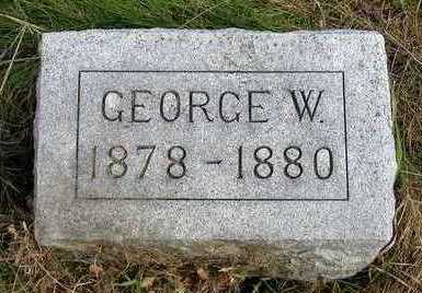 HOGG, GEORGE WESLEY - Madison County, Iowa | GEORGE WESLEY HOGG