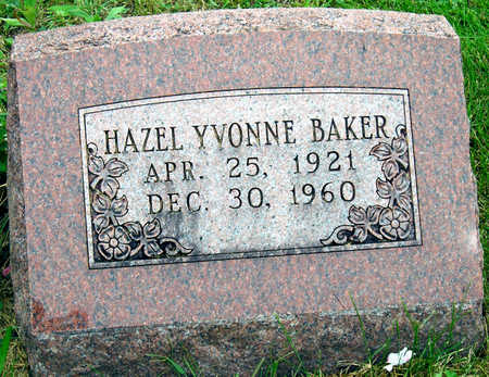 HOGUE BAKER, HAZEL YVONNE - Madison County, Iowa | HAZEL YVONNE HOGUE BAKER