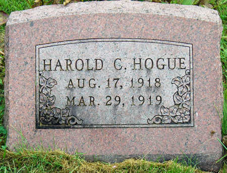 HOGUE, HAROLD CURTIS - Madison County, Iowa | HAROLD CURTIS HOGUE