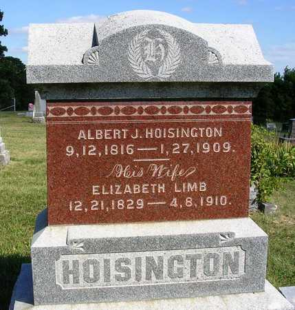 LIMB HOISINGTON, ELIZABETH - Madison County, Iowa | ELIZABETH LIMB HOISINGTON