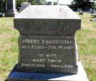 SMITH HOISINGTON, MARY A. - Madison County, Iowa | MARY A. SMITH HOISINGTON