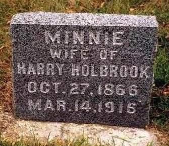BETTS HOLBROOK, ARMINTA (MINNIE) - Madison County, Iowa | ARMINTA (MINNIE) BETTS HOLBROOK