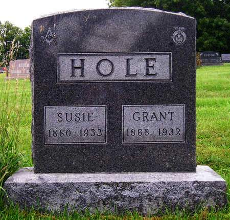 HOLE, GEORGE GRANT - Madison County, Iowa | GEORGE GRANT HOLE