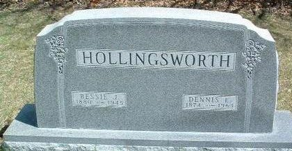 HOLLINGSWORTH, BESSIE JEANETTE - Madison County, Iowa | BESSIE JEANETTE HOLLINGSWORTH