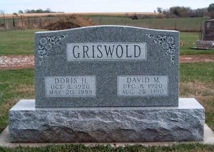 HOLLINGSWORTH GRISWOLD, DORIS H. - Madison County, Iowa | DORIS H. HOLLINGSWORTH GRISWOLD