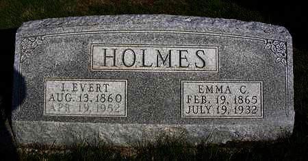 HOLMES, ISAAC EVERT - Madison County, Iowa | ISAAC EVERT HOLMES