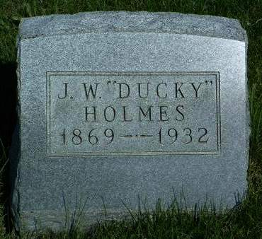 HOLMES, JAMES WILLIAM (DUCKY) - Madison County, Iowa | JAMES WILLIAM (DUCKY) HOLMES