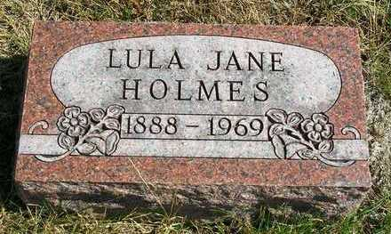 KING HOLMES, LULA JANE (JENNIE) - Madison County, Iowa | LULA JANE (JENNIE) KING HOLMES