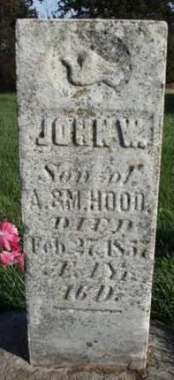 HOOD, JOHN W. - Madison County, Iowa   JOHN W. HOOD