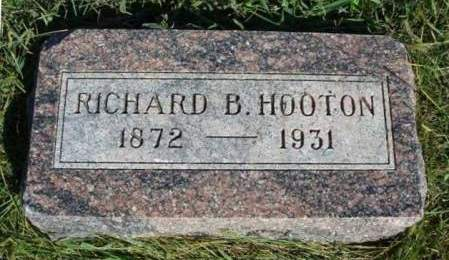 HOOTON, RICHARD B. - Madison County, Iowa | RICHARD B. HOOTON