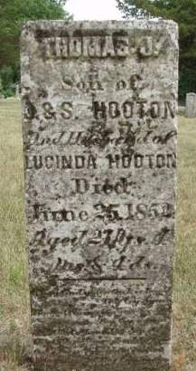 HOOTON, THOMAS JEFFERSON - Madison County, Iowa | THOMAS JEFFERSON HOOTON