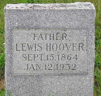 HOOVER, BARNABUS LEWIS - Madison County, Iowa | BARNABUS LEWIS HOOVER