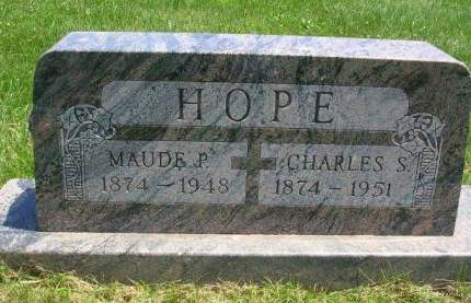 KEIFFER HOPE, MAUDE P. - Madison County, Iowa | MAUDE P. KEIFFER HOPE
