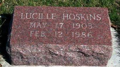 HOSKINS, LUCILLE - Madison County, Iowa | LUCILLE HOSKINS