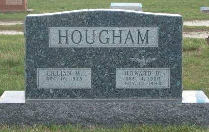 HOUGHAM, LILLIAN M. - Madison County, Iowa | LILLIAN M. HOUGHAM