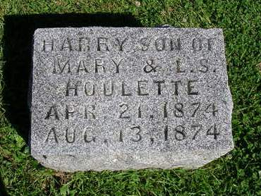 HOULETTE, HARRY MAURICE - Madison County, Iowa | HARRY MAURICE HOULETTE