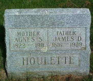 CLARK HOULETTE, AGNES SMITH - Madison County, Iowa | AGNES SMITH CLARK HOULETTE