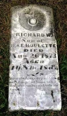 HOULETTE, RICHARD W. - Madison County, Iowa | RICHARD W. HOULETTE