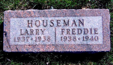 HOUSEMAN, FREDDIE LEE - Madison County, Iowa | FREDDIE LEE HOUSEMAN