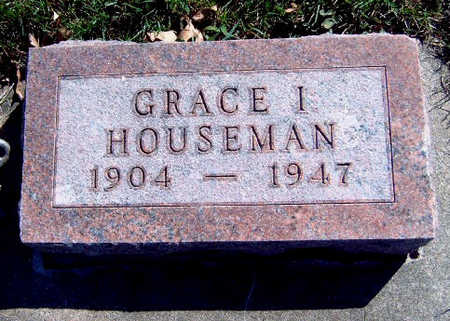 MCBRIDE HOUSEMAN, GRACE I. - Madison County, Iowa | GRACE I. MCBRIDE HOUSEMAN