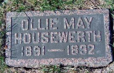 HOUSEWERTH, OLIVE MAY (OLLIE) - Madison County, Iowa | OLIVE MAY (OLLIE) HOUSEWERTH