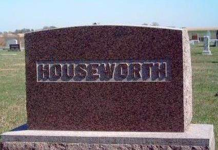HOUSEWORTH, FAMILY STONE - Madison County, Iowa | FAMILY STONE HOUSEWORTH