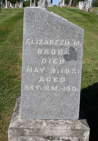 HOUSH BROCK, ELIZABETH MARY - Madison County, Iowa | ELIZABETH MARY HOUSH BROCK
