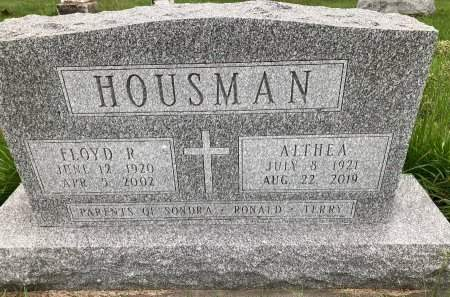HOUSMAN, FLOYD RAYMON - Madison County, Iowa | FLOYD RAYMON HOUSMAN